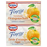 Dr. Oetker Finesse Geriebene Orangenschale, (2 x 6 g) -