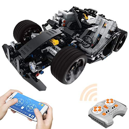 MAJOZ0 Juego de construcción de Monster Truck de 2,4 GHz, con motores, 430 piezas, compatible con Lego Technic