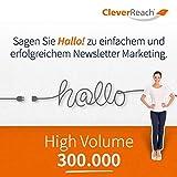 CleverReach Newsletter Software, Email Marketing Automation, High Volume Tarif 300.000, Web Browser, Kostenfreies Probeabo -