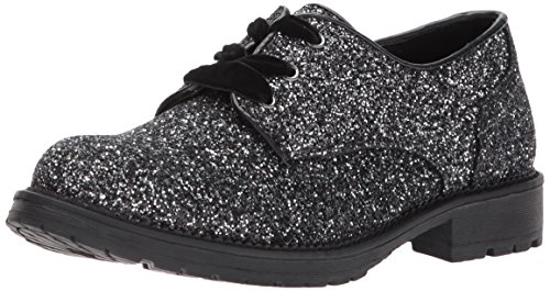 Dirty Laundry by Chinese Laundry Women's Rockford Oxford, Black Glitter, 10 M US