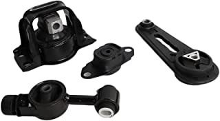 Autoforever Engine Motor & Trans Mount Set 4PCS Fit for 2007-2012 Nissan Versa 2009-2014 Cube 1.8L fits A4323 A4320 A4318 A4312