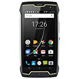 CUBOT Kingkong (2020) Android 10 Rugged Smartphone Unlocked, 4400mAh Big Battery, Dual-SIM, Compass+GPS, IP68 Waterproof Shockproof, Dustproof Outdoor Sim Free Mobile Phone(Black)