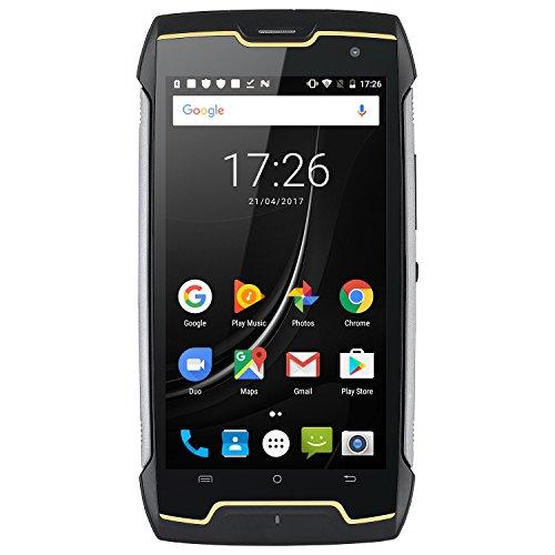 Cubot King Kong Mini 4G Dual SIM Handy frei stoßfest IP67 4.0 Zoll, 3GB RAM und 32GB ROM, Android 9.0, 2000 mAh Akku Typ C, robust Dual Kamera 13MP + 8MP Smartphone (Orange)