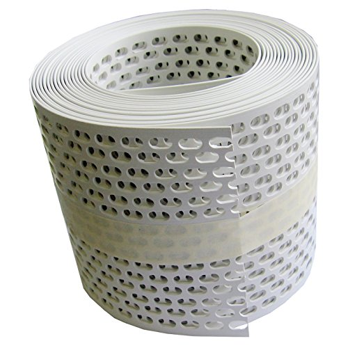 Traufgitter 100 mm weiss/Rolle a 5 lfm