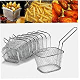 Case&Cover Fries Mini francesi cestello Mini Patatine Fritte...