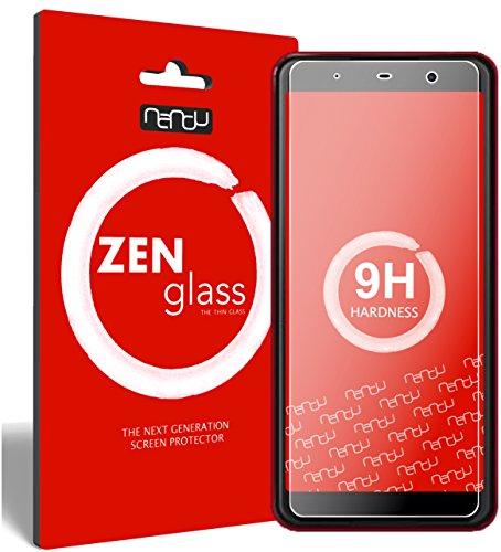 ZenGlass Flexible Glas-Folie kompatibel mit Wiko Lenny 5 Panzerfolie I Bildschirm-Schutzfolie 9H I (Kleiner Als Das Gewölbte Bildschirm)