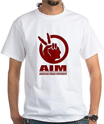 CafePress AIM American Indian Movement T Shirt 100 Cotton T Shirt White product image
