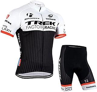 YAYAMOZ 半袖 メンズ 夏用 サイクルジャージ 上下セット ハーフショーツ サイクルウェア サイクリングウェア スポーツウェア 高弾性 吸汗 速乾 通気