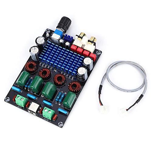 Dual Channel versterker Board, TPA3116D2 100Wx2 Dual Channel Stereo digitale Audio versterker Board 12-24V XH-M590