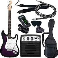 SELDER セルダー エレキギター ストラトキャスタータイプ サクラ楽器オリジナル ST-16/PPS 初心者入門ベーシックセット