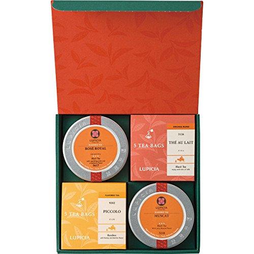 ルピシア【LUPICIA】お茶4種のバラエティーセット