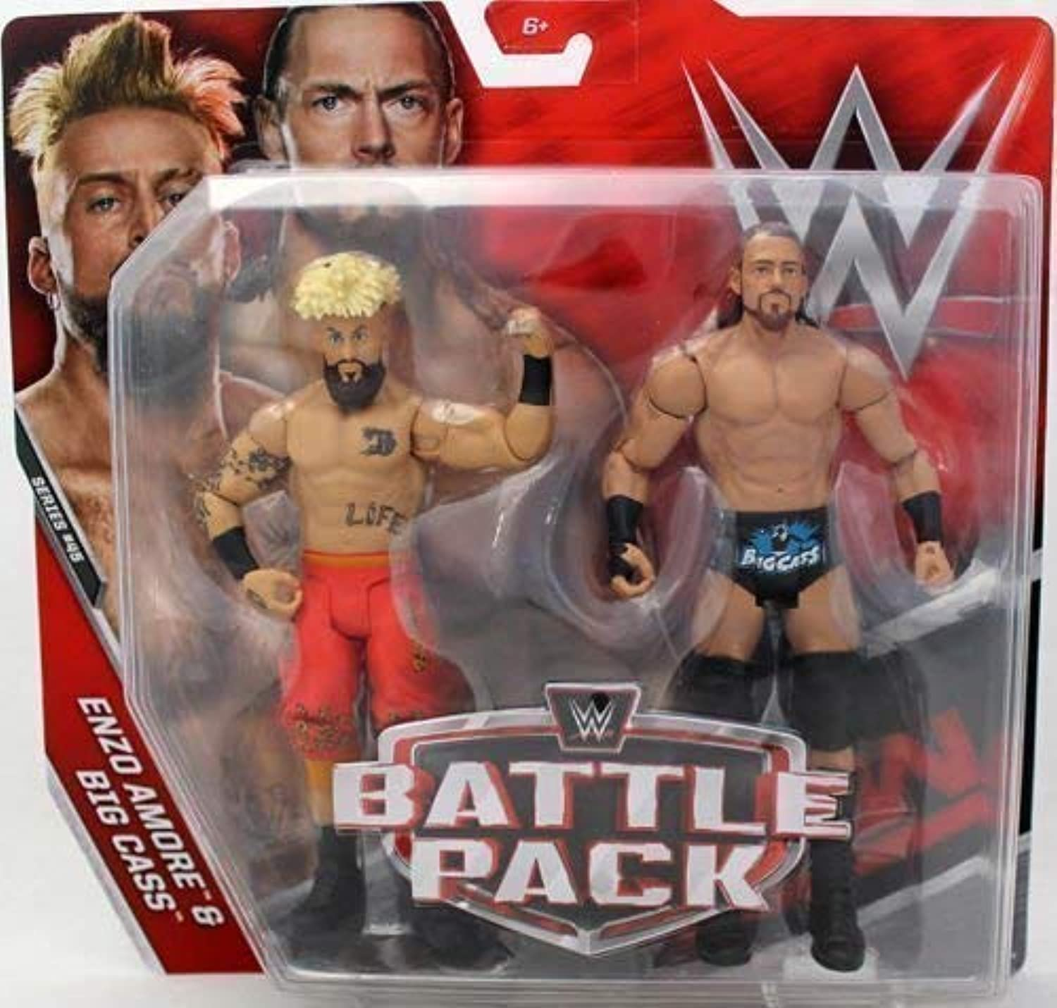 WWE Battle Pack Series 45 Action Figures  Enzo Amore & Big Cass   'How You Doing'