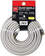 RCA 50-Feet Quad Shield Coax Cable (DH50QCF)