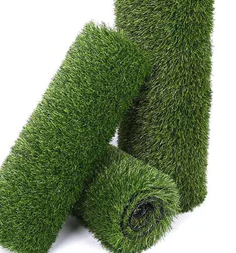 Synthetic Artificial Grass Turf Rug, 6.5FTx13FT(84.5 Square FT) Realistic Fake Faux Grass Turf Rug Mat Carpet for Dogs Pee Outdoor Garden Lawn Landscape
