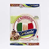 La Banderita Carb Counter / Whole Wheat Flour Tortillas | 8' Size | 8 Count Each Pack | 4 Pack Case // Taste the tradition.