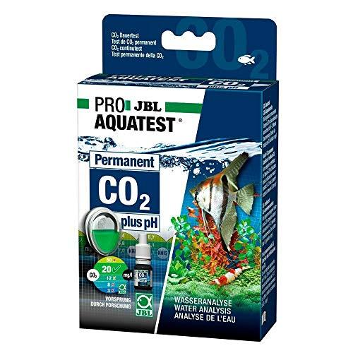 JBL- CO2-pH Permanent Test-Set Dauertest zur Bestimmung des Säure-/Kohlendioxidgehalts in Süßwasser Aquarien