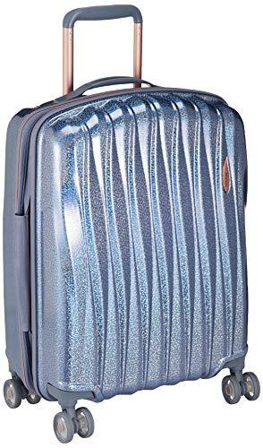 [ベラージ] スーツケース TSAダイヤルロック 8輪キャスター Glitter-SS 機内持ち込み可 35L 2.8kg ブルー