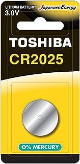 بطارية ليثيوم 3 فولت من توشيبا CR2025 BP-1C - قطعة واحدة