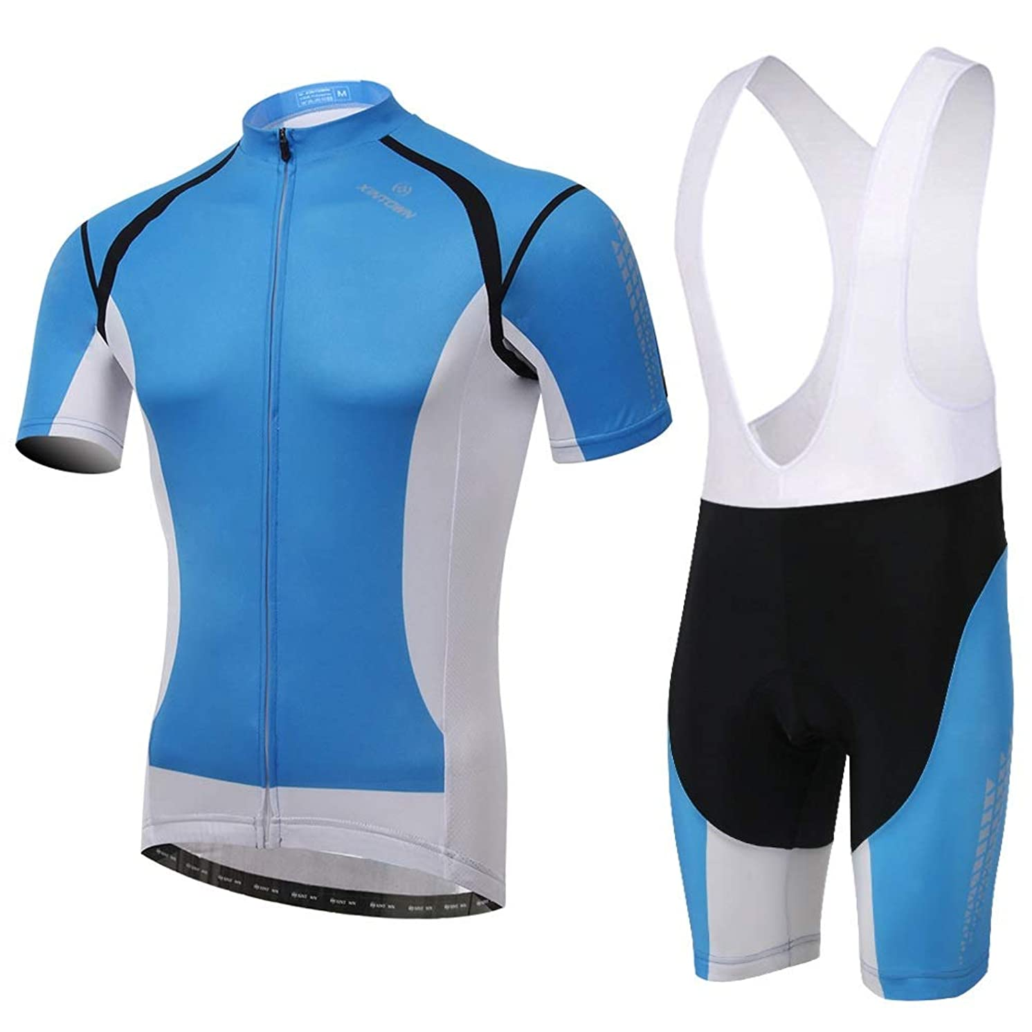Williess Quick Drying Bicycle Jersey Men's Short Sleeve Suit for Cycling Shorts 3D Padded Clothing Cycling Sets Jerseys