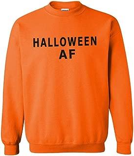 Halloween AF Orange Hoodie for Men or Women Funny Party
