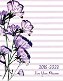2019-2023 Five Year Planner: 60 Months Calendar Yearly Goals Monthly Task Checklist Organizer Agenda Schedule Logbook Appointment Notebook Personal ... (Five Year Calendar Planner) (Volume 1)
