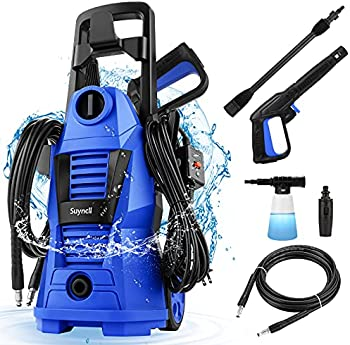 Suyncll 2300-PSI Electric Pressure Washer with Adjustable Nozzle