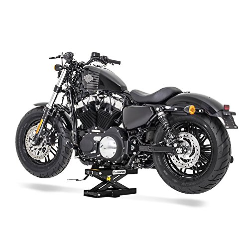 Caballete Elevador Tijera Moto ConStands Gato Lift Mini Negro