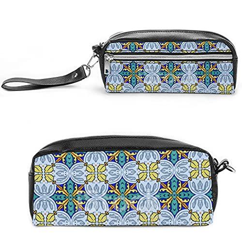 Neceser de viaje para mujer con diseño de unicornio, con muchos bolsillos, Black-style-18, 20*10*5.5cm,