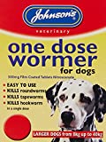 Johnson's One Dose Easy Wormer for Dogs and Puppies, 8 - 40 kg