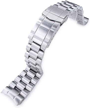 9ba81804925 22mm Endmill 316L SS Watch Bracelet for Orient Mako II   Ray II