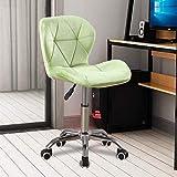Radelldar Verte Fauteuil de Bureau en Velours Pivotant Hauteur Réglable Chaise de Bureau à roulettes Chaise D'ordinateur pour Le Bureau à Domicile (Verte)