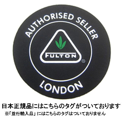 Fulton Open & Close 11 Umbrella Black, 30 cm long