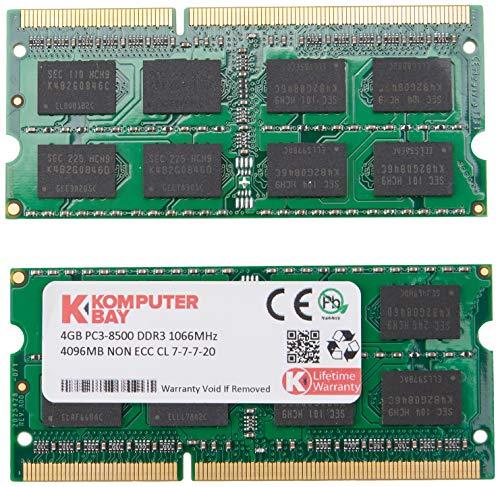 Komputerbay KB 8GB - Memoria RAM de 8 GB (DDR3, 2 x...