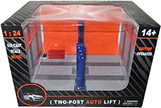 Battery Operated Two Post Auto Lift For 1/24 Scale Diecast Model Cars 9908