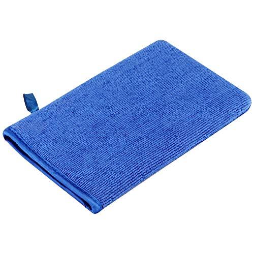 Gobesty Auto Waschhandschuhe, Mikrofaser Handschuh mit Reinigungsknete Saugkraft Mikrofaser Handschuhe für Autos, Detaillierung, Autopflege