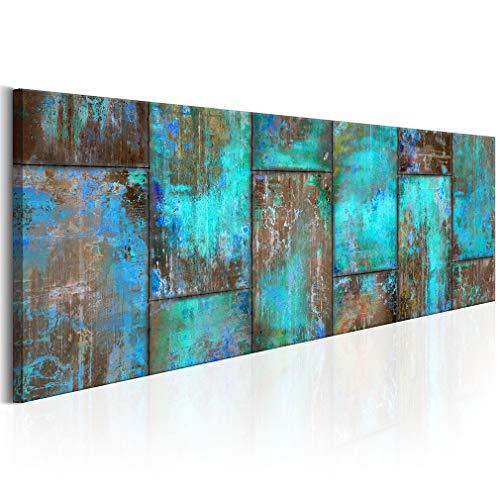 decomonkey Bilder Abstrakt 150x50 cm 1 Teilig Leinwandbilder Bild auf Leinwand Vlies Wandbild Kunstdruck Wanddeko Wand Wohnzimmer Wanddekoration Deko Modern