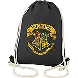 Harry Potter - Kinder Zauberer Stoffrucksack Beutel Bag Hogwarts 34,5 x 45 cm