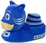PJ Masks Kids Slipper, Catboy Socktop Slip On,Plush,Blue, Toddler Size 9/10