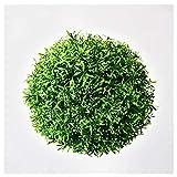 SYLTL Künstlich Buchskugel Künstliche Pflanzen Grasball Geeignet für Hochzeiten den Innen- Und Außenbereich Einkaufskindergarten,35 cm