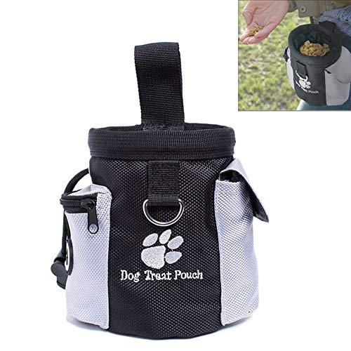 BOENTA Bolsa Premios Adiestramiento Perros Bolsa Adiestramiento Perros Bolsa de Entrenamiento para Perros Perro Tratar Bolsa Perro Accesorios