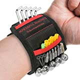 Magnetic Wristband Pick-Up Tool for Holding Screws, Nails, Drill Bits Gifts for Men