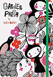 Affiliate link to the book Garden Party: (Nature Themed Whimsical Book for Girls and Women, Beautiful Illustration and Quote Book) by Helen Dardik (Illustr
