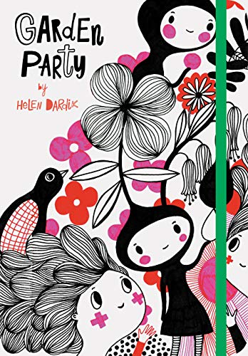 Garden Party: (Nature Themed Whimsical Book for Girls and Women, Beautiful...
