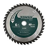 TOMAX 7-1/4-Inch 24 Tooth ATB Framing Saw Blade with 5/8-Inch DMK Arbor