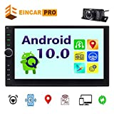 Eincar Latest Model 7 inch Double din GPS Navigation Android 8.1 Quad Core