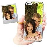 Coverpersonalizzate.it Coque Personnalisable pour Apple iPhone 5 / 5s / Se avec ta Photo, Image ou...