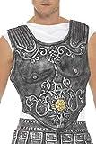Smiffys-21993 Peto de armadura romana, EVA, color gris, No es applicable (Smiffy's 21993) , color/modelo surtido