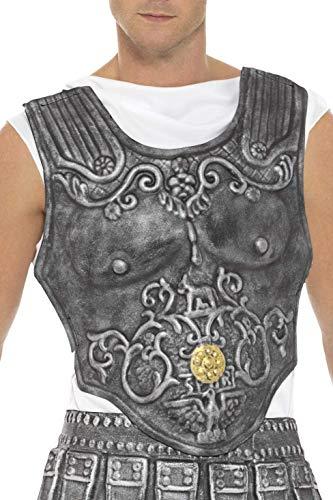 Smiffys Herren Römische Rüstung Brustkorb, One Size, Grau, 21993