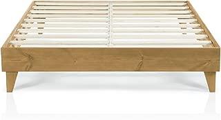 Best oak wood bed frame Reviews