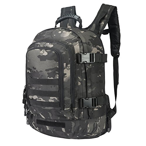 Expandable Backpack 39L - 64L Large Military Tactical Bug Out Waist Strap Bag